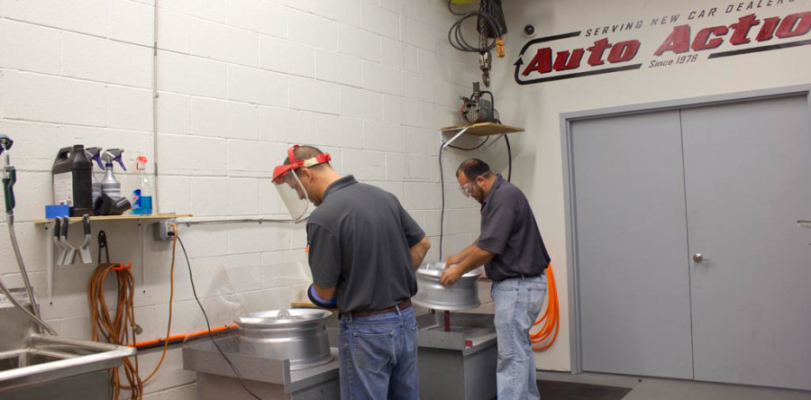 Auto Action Launches Wheel Repair Division