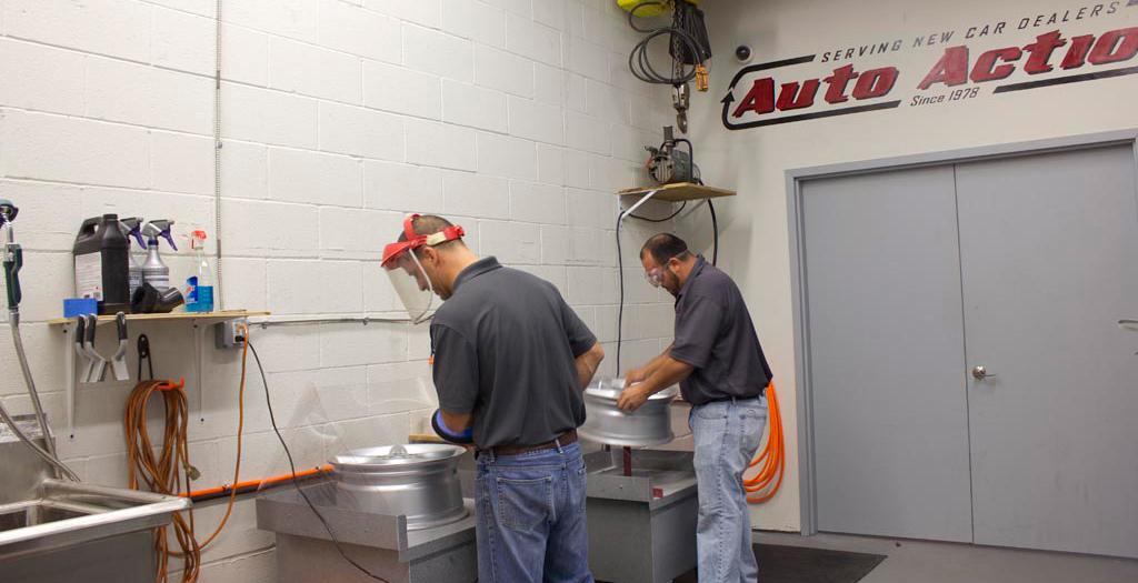 Auto Action Launches Wheel Repair Division