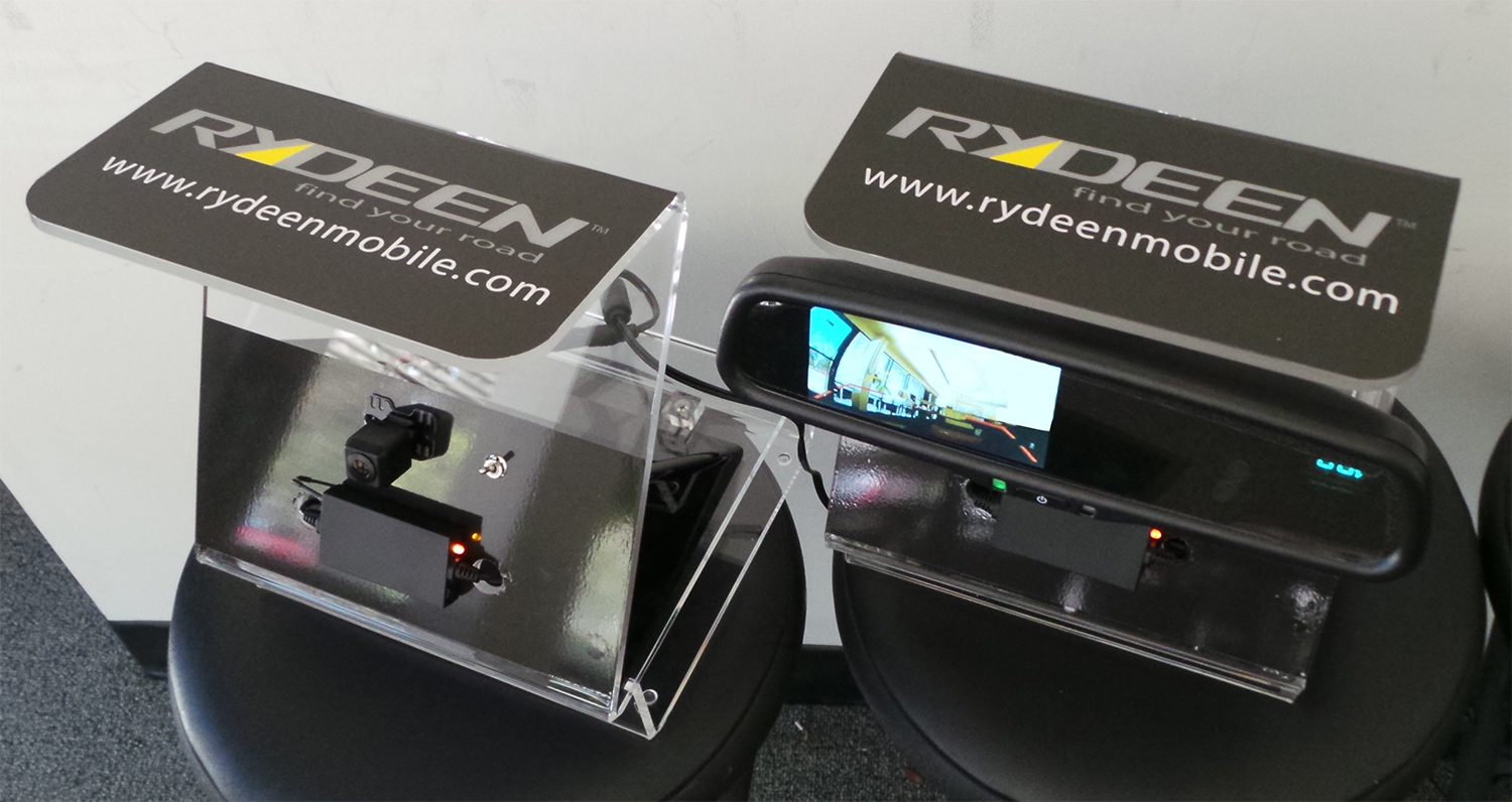 Rydeen Ships Two-Part Point-of-Sale Display Showcasing Wireless Video