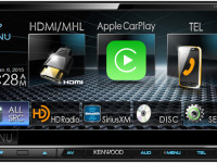 Kenwood Debuts Multimedia Receiver With Apple® CarPlay® and Android Auto™ in One