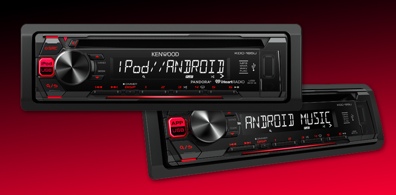 KENWOOD Releases Duo of Budget-Friendly 2016-Model Head Units