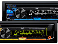 Next-Generation Bluetooth Leads 2016 Feature Set of Premium JVC CD Receivers
