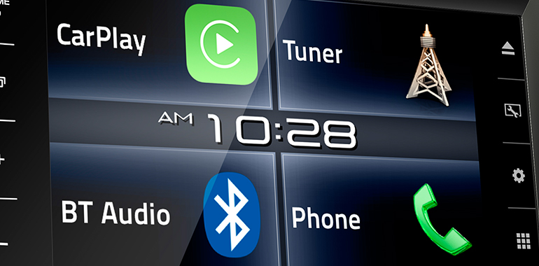 JVC Ships Flagship Multimedia Receiver With Apple CarPlay™