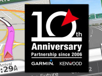 JVCKENWOOD Commemorates a Decade of Navigation Partnership With Garmin