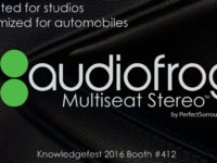 Audiofrog Gives Driver and Passengers an Audiophile Experience with New Multichannel Platform