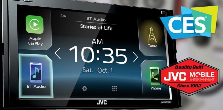 JVC Mobile Entertainment 2017 Line-Up to Debut at CES