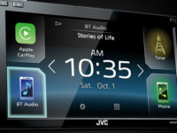 New JVC Digital Media Receiver Entertains and Informs With Apple CarPlay™, Android Auto™