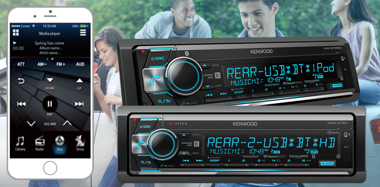 KENWOOD's 2017 CD Receivers are the Perfect Mix of Sound and Social Fun