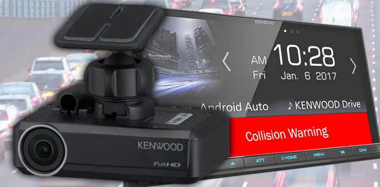 KENWOOD Unveils Combo Camera for Recording, Collision Avoidance