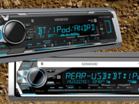KENWOOD Upgrades Its Trio of Marine / Motorsports Receivers