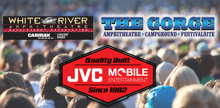 JVC to Sponsor Washington's White River & Gorge Amphitheaters