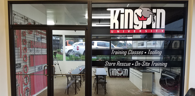 Kingpin University Travels to Sactown for Second Annual Crash Course Training
