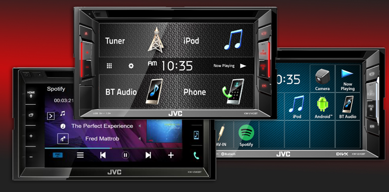 """JVC Bets on Continuing """"Big Radio"""" Demand With 2018 Receiver Trio"""