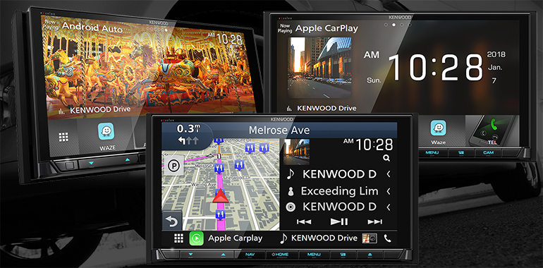 New KENWOOD Flagship Multimedia Receivers Provide Premium Features Tailored to a Driver's Music Media Preferences