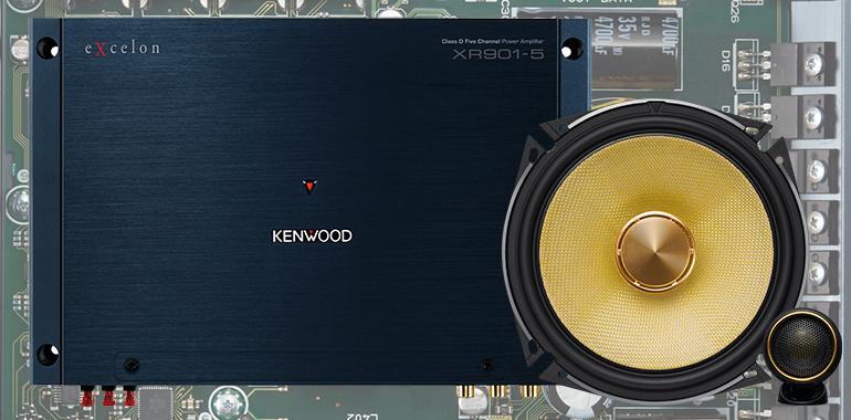 KENWOOD Debuts Hi-Res Audio Speakers and Amplifiers