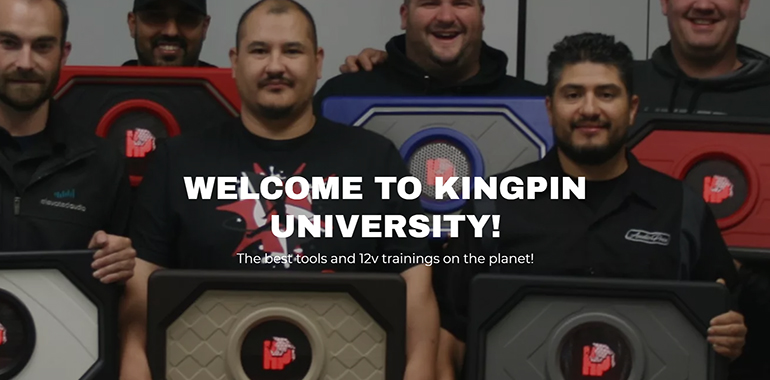 Kingpin University Presents More Products, Classes on New Website