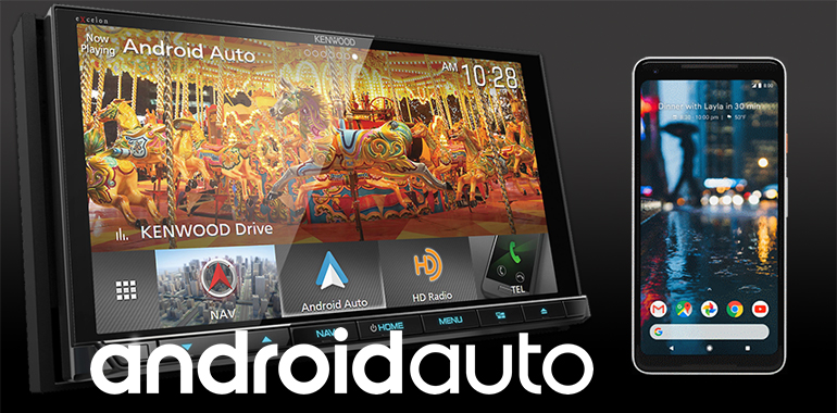 KENWOOD's Wireless Android Auto™ Feature Supported by Select but Expanding List of Smartphones