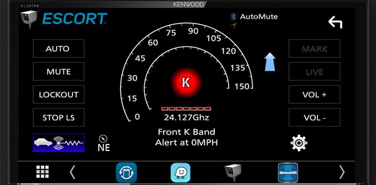 KENWOOD Announces Compatibility with ESCORT Premium Installed Radar Detectors via New iDatalink Maestro Interface