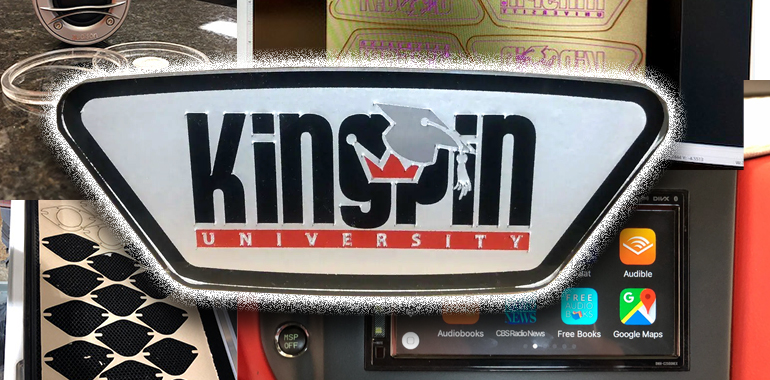 Kingpin University Announces First Class Focused on Laser Cutting