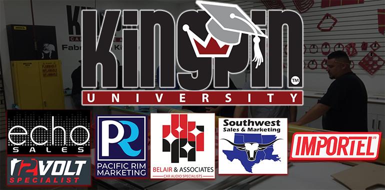 Kingpin University Announces New Sales Representatives, Distributor