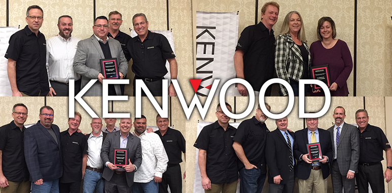 KENWOOD Doubles Up on Annual Rep Awards