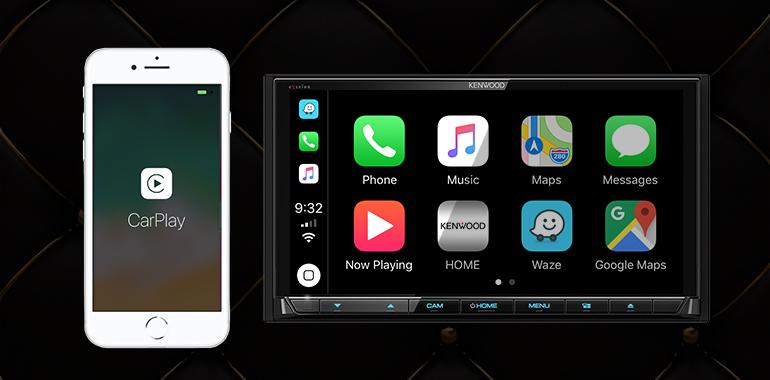 2019 KENWOOD Multimedia Receivers Gain Wireless Apple® CarPlay™ Connectivity