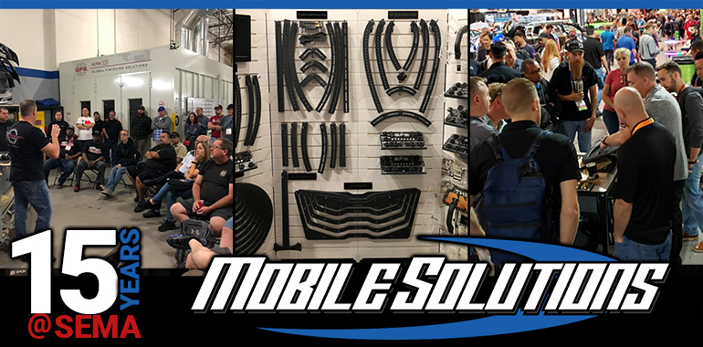 Mobile Solutions Celebrates 15 Years at SEMA