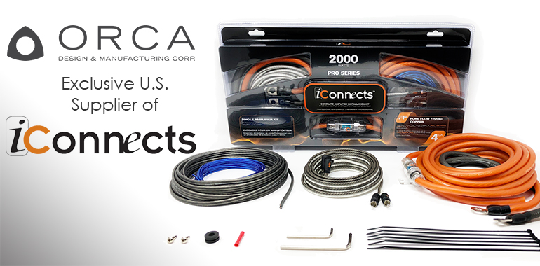 Orca Ships New Audio / Power Wiring and Interconnects Product Line