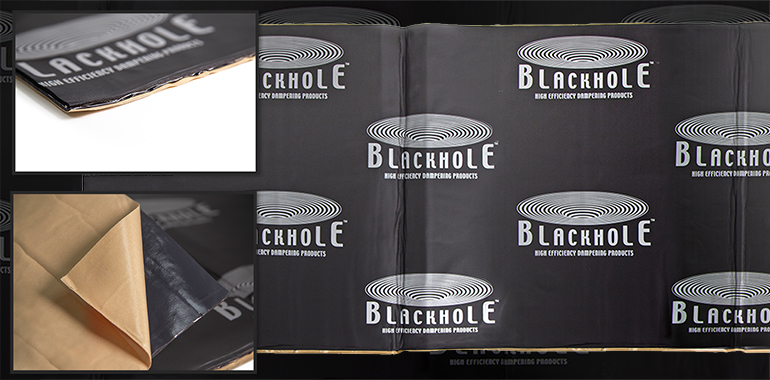 Orca Ships New Three-Layer Damping Material Under Black Hole Brand